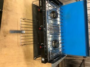 calor gas cooking stove 2 burner +toasting grill