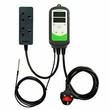UK Plug Inkbird Wired Digital Temperature Controller ITC308 Thermometer Reptiles