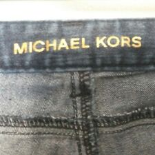 Michael Kors Blue Med to Dark Wash Low Rise Bootcut Denim Jeans Size 4
