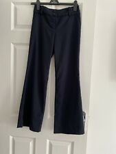 Next Navy Blue Petite Size 6 Trousers