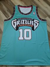 Mike Bibby 1999 Vancouver Grizzlies Throwback NBA replica Jersey - large