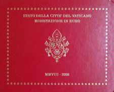 VAX2008.1 - COFFRET BU VATICAN - 2008 - 1 cent à 2 euros