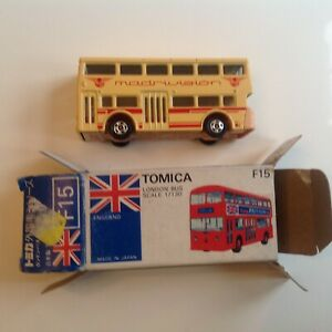 Tomica London Bus Madrivision 1:130 NoF15