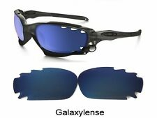 Galaxy Replacement Lens for Oakley Racing Jacket Navy Blue Polarized 100%UVA&VB