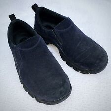 Land's End Women's Navy Blue Slip-on Comfort Shoes Size 6B 86168 2442/1449