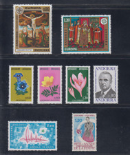 Andorra French (1975) Year Complete New MNH - Yvert and & T 243/50
