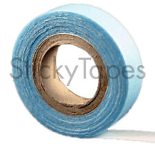 Hair Extension Tape - Double Sided with Blue Liner - Handy Size Roll 1/2in x 8ft