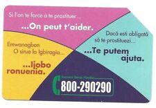 *G 1998 500 C&C 4093 SCHEDA TELEFONICA USATA POSSIAMO AIUTARLA LATO A VERDE