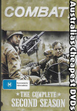 Combat The Complete Second Season DVD NEW, FREE POSTAGE WITHIN AUSTRALIA REG ALL