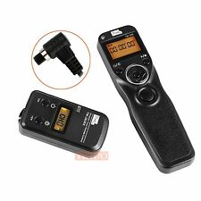 Wireless Timer Shutter Release Remote Control For Canon 5D Mark III/II 7D II 6D
