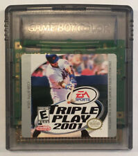 TRIPLE PLAY 2001 NINTENDO GAMEBOY COLOR - GBC