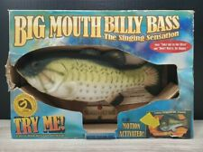 Vintage Big Mouth Billy Bass Fish Gemmy 1999 For Parts or Repair