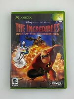 The Incredibles: Rise of the Underminer - Original Xbox Game - Complete & Tested