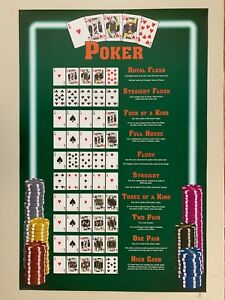 POKER CARDS,RARE AUTHENTIC 2006  POSTER