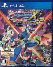 PS4 Rockman X Anniversary Collection 2 Limited Bonus Weapon Poster Megaman JAPAN