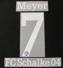 FC Schalke 04 MEYER Spieler Flock 25 cm für adidas Home Trikot 2014-2015-2016