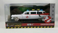 Ghostbusters ~ ECTO-1 ~ Metals Die Cast Car ~ Hollywood Rides