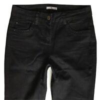 Ladies TU Slim Boot Fit Black Pretty Jeans Size 10 W28 L32 (454)