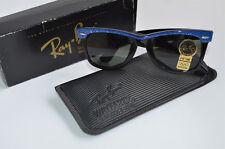 Vintage original Ray Ban b&l estados unidos Wayfarer Electric Blue con su caja original,! nuevo!