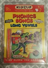 Kidzup Phonics Songs Long Vowels CD and booklet Learning Beat Series