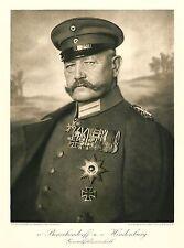 WW1 Photo-Paul von Hindenburg Controlled German Policy- German President 1925