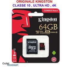 Memoria Memory Card Micro SD SDXC Kingston 64GB Huawei P20 Lite Mate 10 20 S 4K