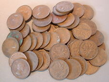 CANADA  1 CENT 1953 NSF VG to F+ ****50 pcs lot*****