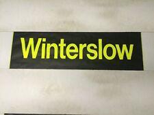 """Hampshire Bus Blind N31 (31"""") - Winterslow"""