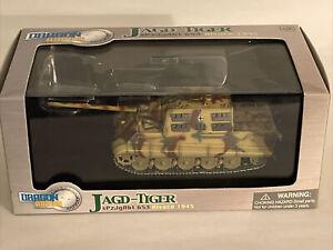 Dragon Armor Jagd-Tiger Tank Henschel Version #60014 New