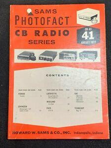 SAMS Photofact CB Radio Series Books