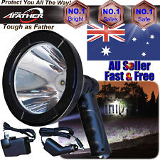 T6 LED 720W Rechargeable Spotlight Hunting Hand Held Torch Spot Light Offroad AU