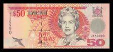 FIJI 50 $ DOLLAR 1996. PICK 100b. SC. UNC