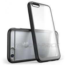 iPhone 6 Case [Dust Cap/Drop Protection] Clear Back Shock Absorption Bumper Skin