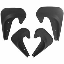 2 Pair Front Rear Universal Car Mud Flaps Splash Guards Mudguard Black for SUV