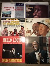 Louie Armstrong Lp Lot Of 6 Records Jazz