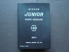 JDM NISSAN JUNIOR Truck 140 Series Original Genuine Parts List Catalog
