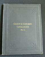 Guest & Chrimes Catalogue 1 Firefighting Antique fire extinguishing tools 1889