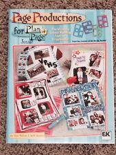 EK Success Page Productions Plan-a-page Junior plus 4 Border Buddy Templates
