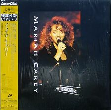 MARIAH CAREY Laserdisc MTV Unplugged Live JAPAN LD OBI