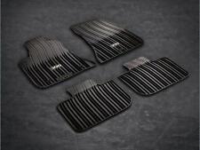 Chrysler 300 AWD 2011 - 2018 Black Rubber Slush Floor Mats OEM Mopar 82212254AB