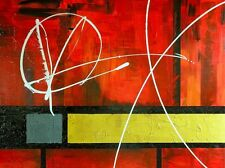 """SUPERB ORIGINAL ROB VAN HEERTUM """"Piece Out!"""" ABSTRACT PAINTING"""