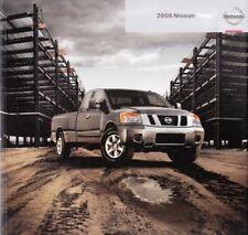2008 08 Nissan Titan  original sales brochure