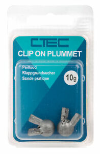 Spro C-Tec Clip On Plummet Klappgrundsucher Lotblei 10g 2 Stück OVP NEW