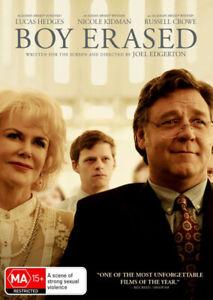 BOY ERASED (2018) [NEW DVD]
