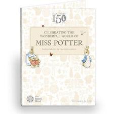 50p Beatrix Potter Album Royal Mint 2016 Brand New Uncirculated Peter Rabbit