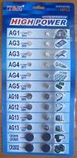Assorted Button Batteries Set 24 Pcs Coin Cell Battery Watch Calculator Cr2032