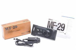 """Near Mint"" Nikon MF-29 Data Back for Nikon F100 Film Camera From Japan 177A"