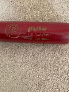 Philadelphia Phillies Signed /Autographed 1980 World Series Bat