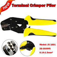 Pro Wire Crimpers Ratchet Terminal Crimping Pliers Tool 3.96-6.3mm 0.14-1.5mm²