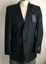 New 42L ANGELO ROSSI MENS 2 BTN  SUIT JACKET Color Black Display With Defect